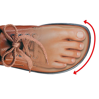 Schoenen brede voeten hoge wreef heren